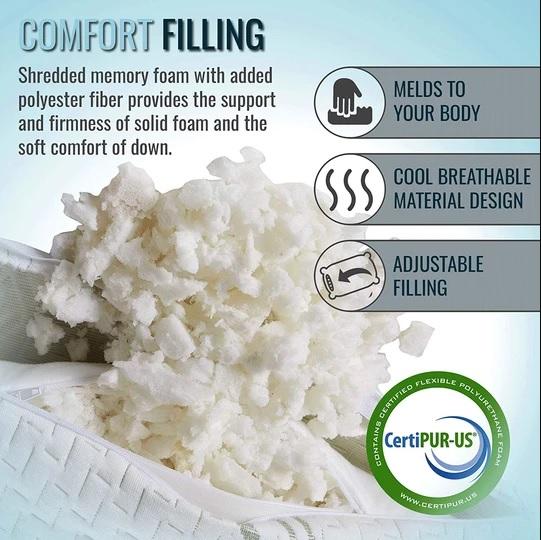 Is a Shredded Memory Foam Pillow Better?