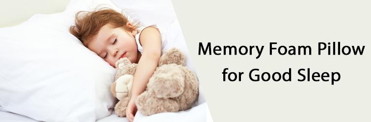 Memory Foam Pillow for Good Sleep